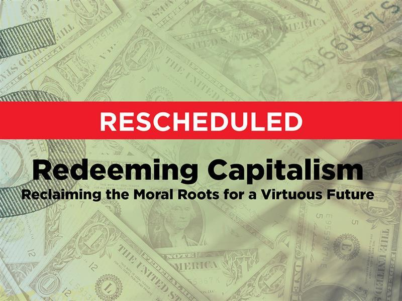 Commerce and Vocation Lecture: Redeeming Capitalism